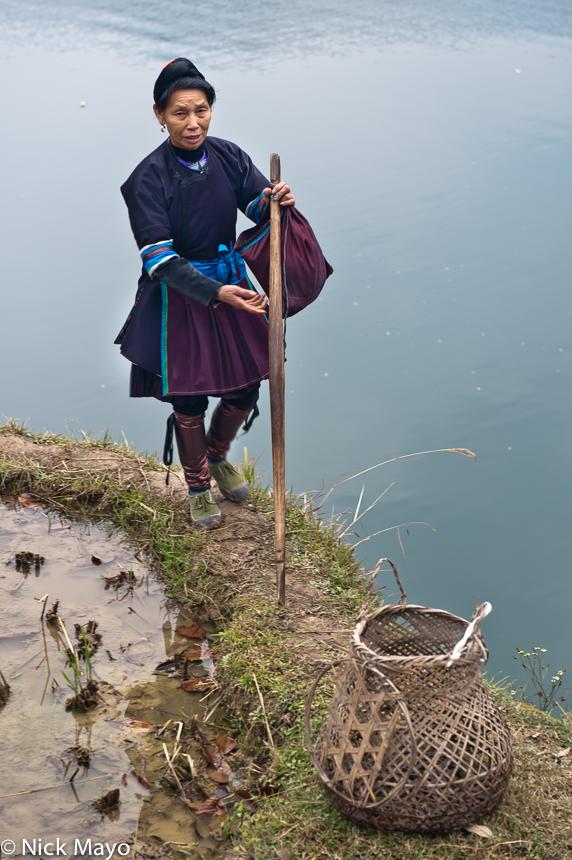 China,Dong,Guizhou,Wicker Basket, photo