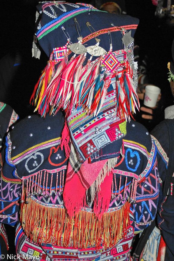 China,Festival,Hani,Headdress,Yunnan, photo