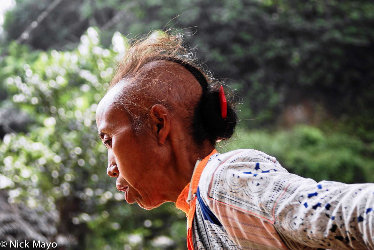 China,Guizhou,Hair,Miao, photo