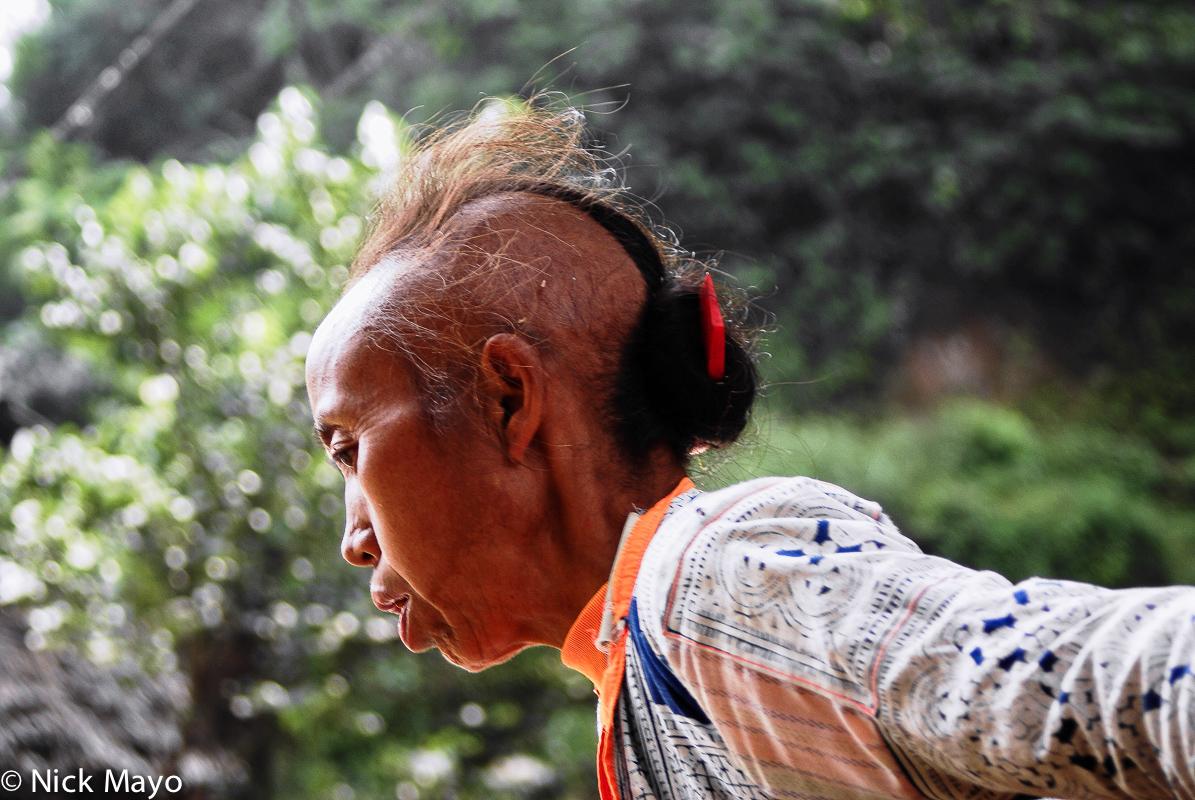 China,Guizhou,Hair,Miao, photo