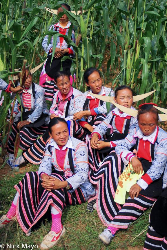 China,Funeral,Guizhou,Hair Piece,Miao, photo