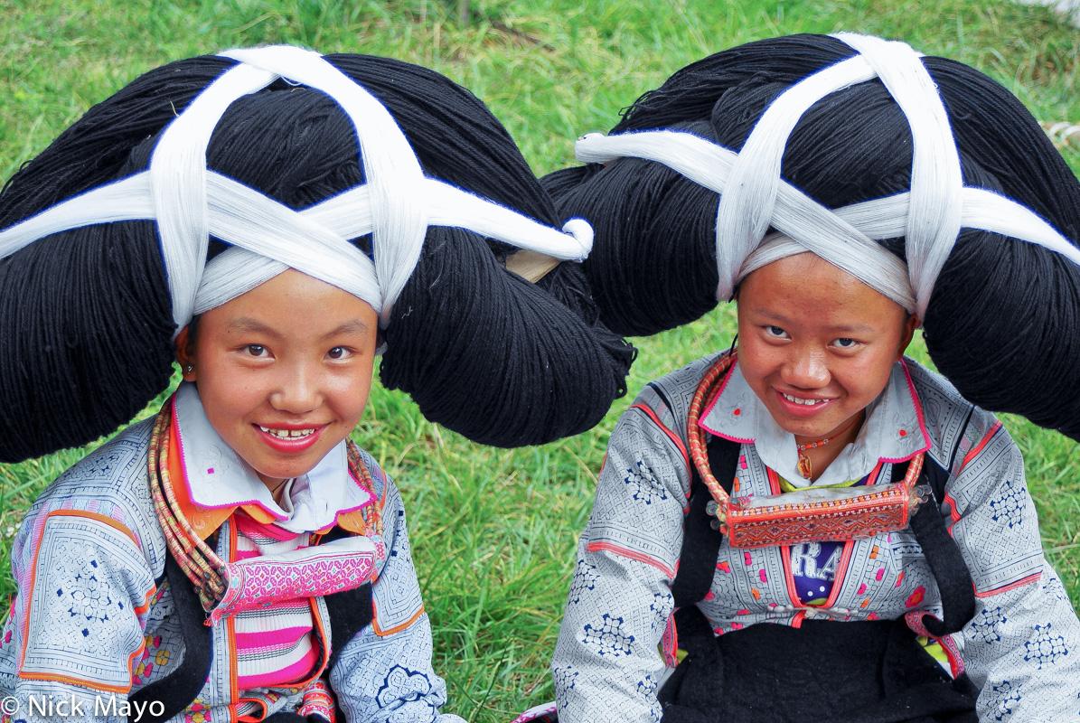 China,Guizhou,Hair Piece,Miao, photo