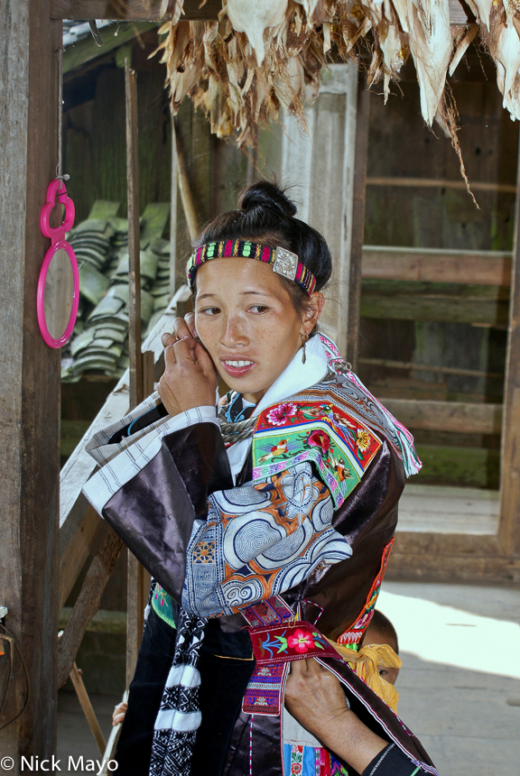 China,Earring,Guizhou,Head Band,Miao, photo