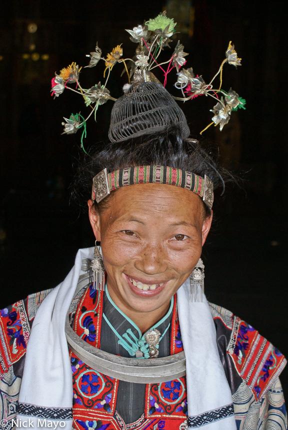 China,Earring,Guizhou,Hair Piece,Miao,Necklace, photo