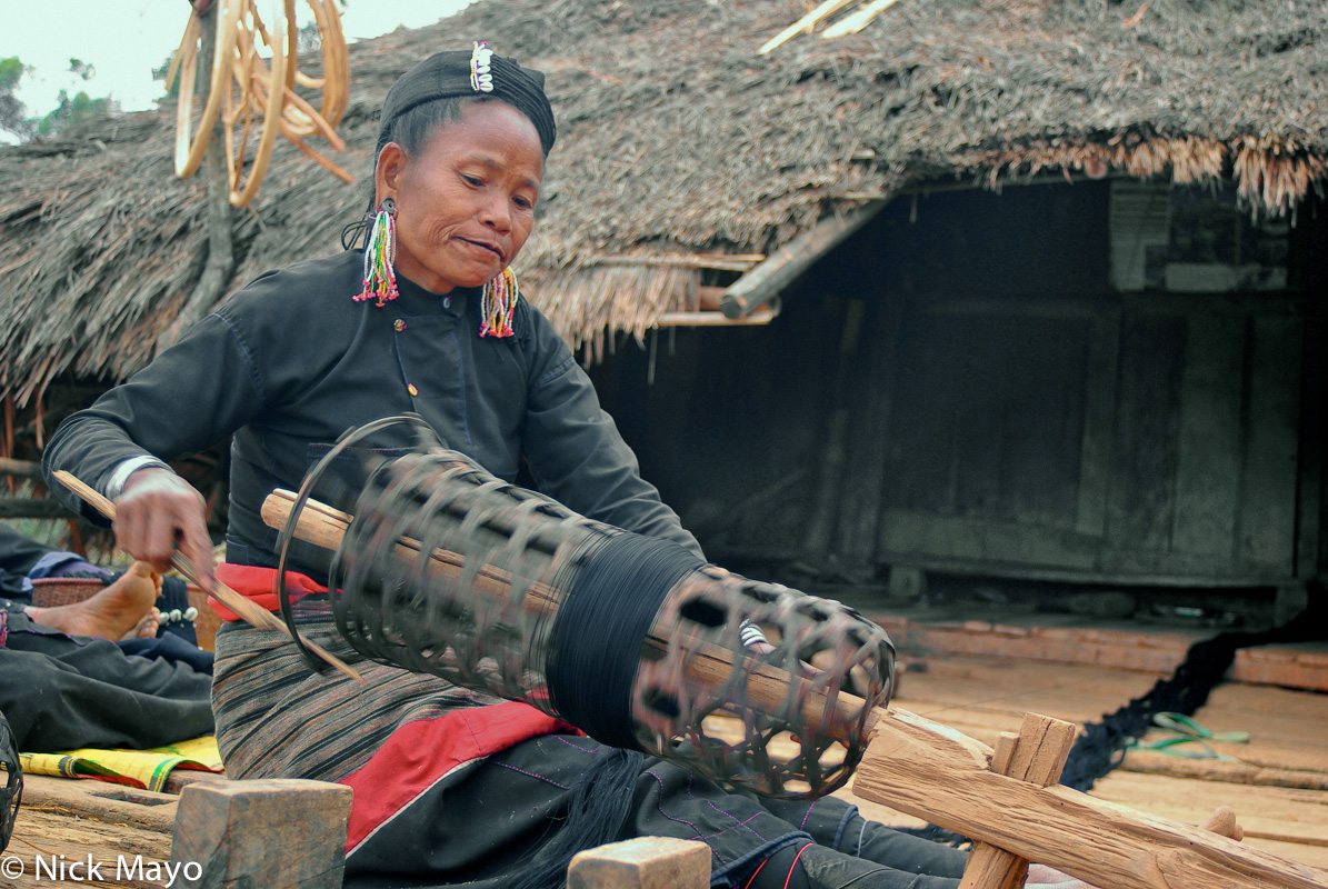 Burma,Eng,Shan State,Spindle,Spinning, photo