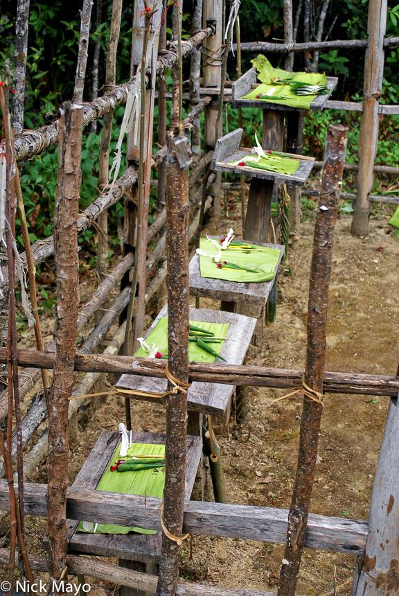 Animist Shrine,Burma,Shan State, photo