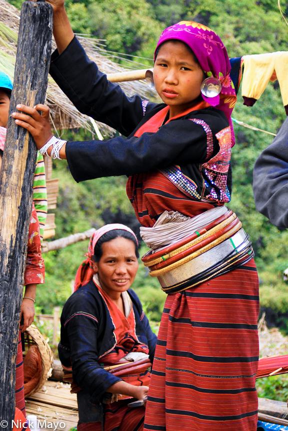 Burma,Earring,Palaung,Shan State,Waist Hoops, photo