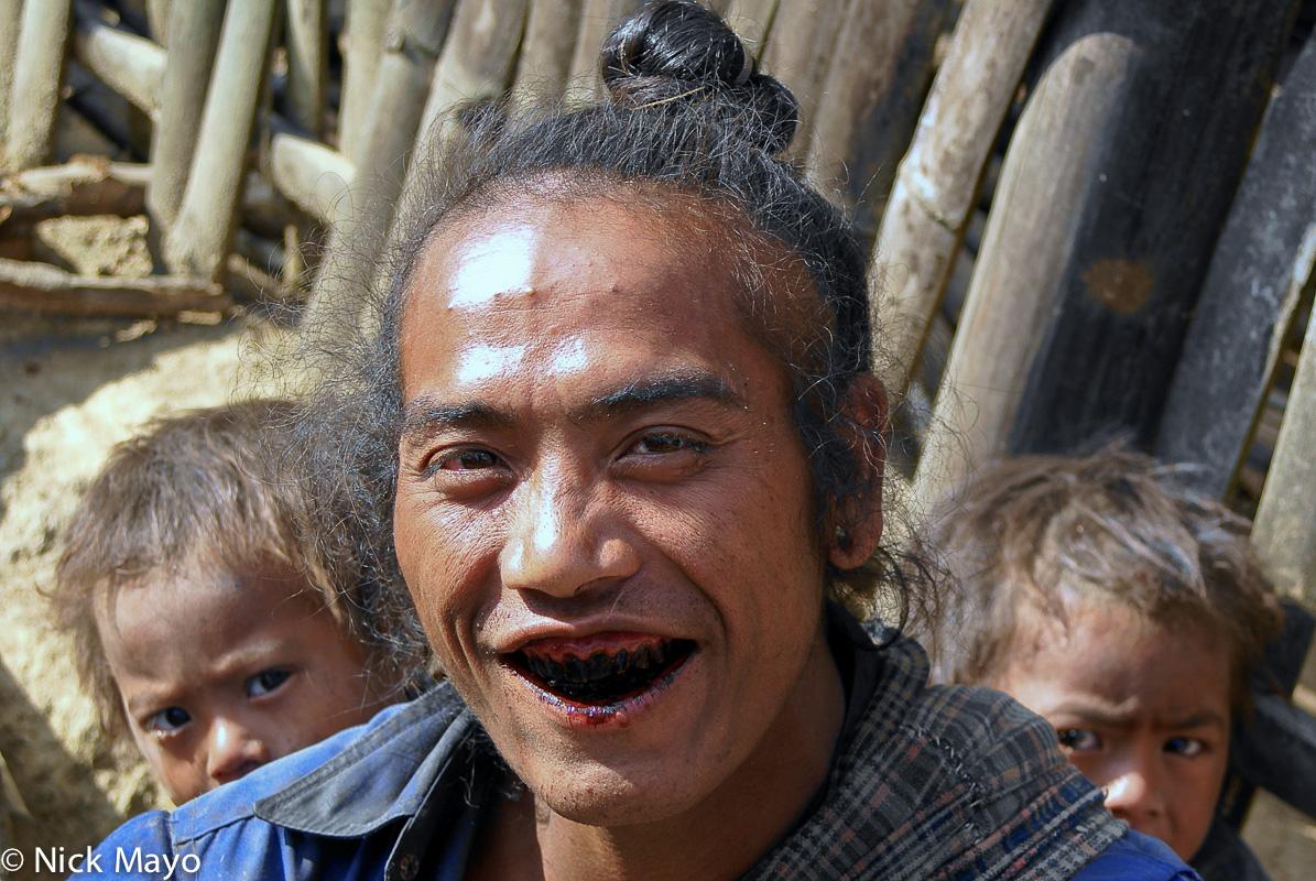 Burma,Eng,Hair,Shan State,Teeth, photo