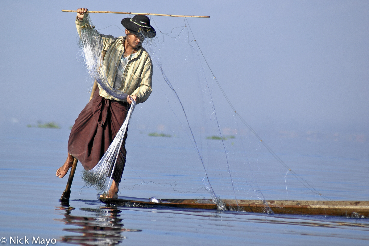 Boat,Burma,Fishing,Fishing Net,Intha,Shan State, photo