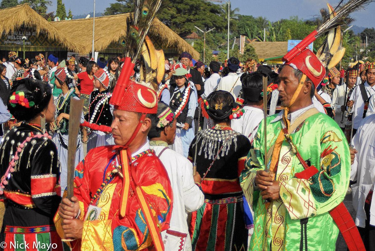 Burma,Festival,Hat,Jingpo,Kachin State, photo