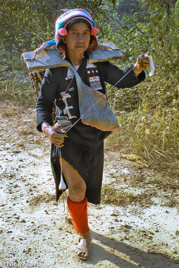China,Hani,Spindle,Spinning,Yunnan, photo
