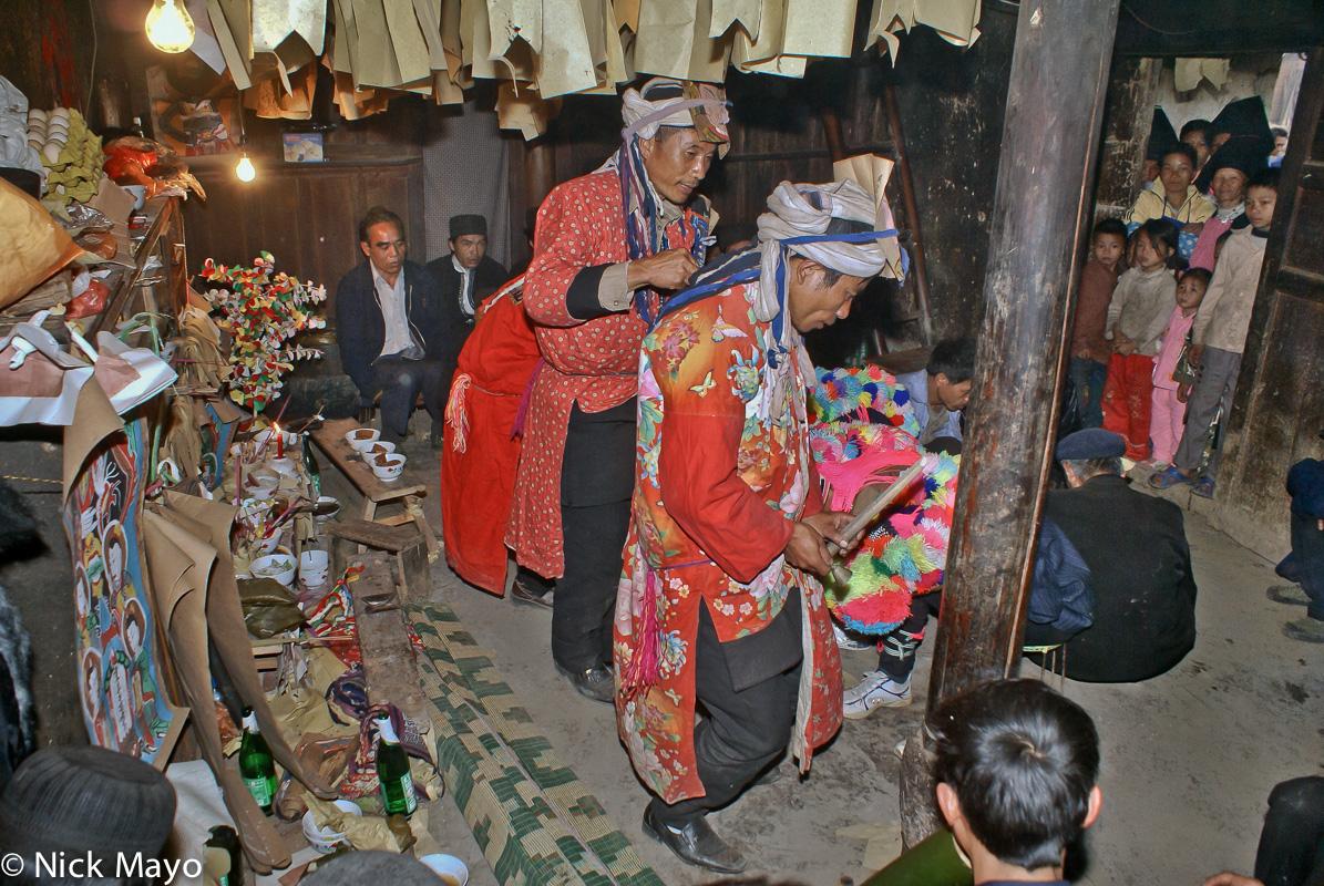 China,Dujie,Hat,Sai Mienh,Yao,Yunnan, photo