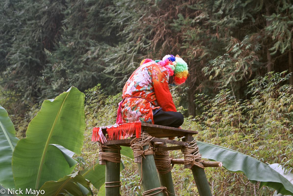 China,Dujie,Hat,Platform,Yao,Yunnan, photo