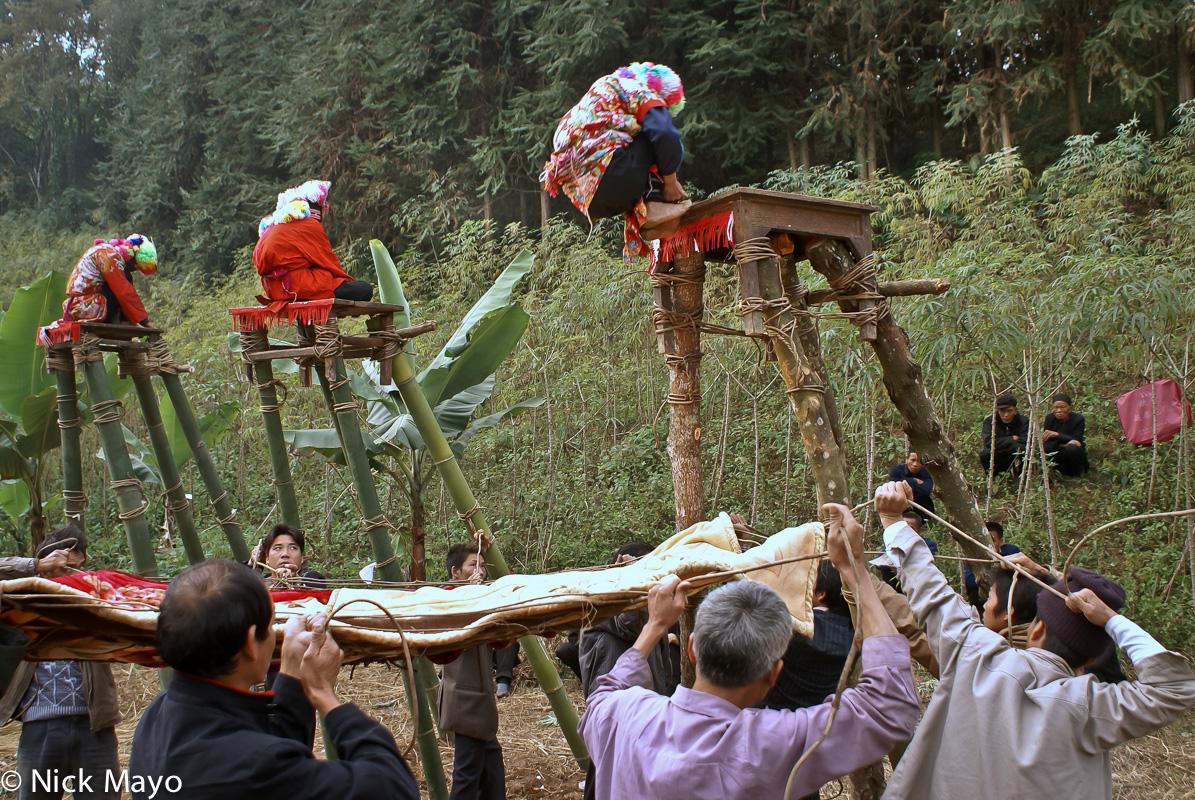 China,Dujie,Hat,Net,Platform,Yao,Yunnan, photo