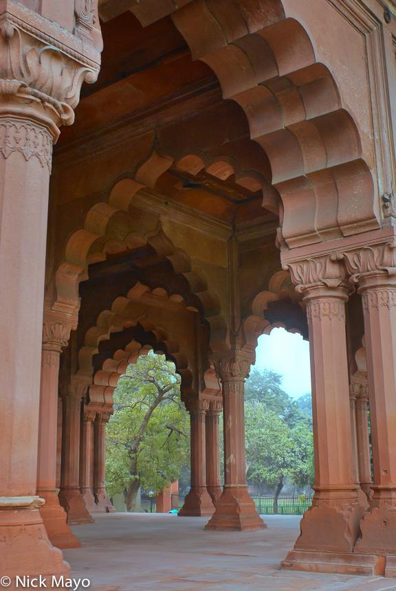 Arch,Delhi,Fort,India, photo