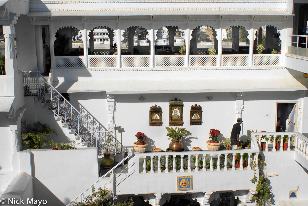 Courtyard,Hotel,India,Rajasthan, photo