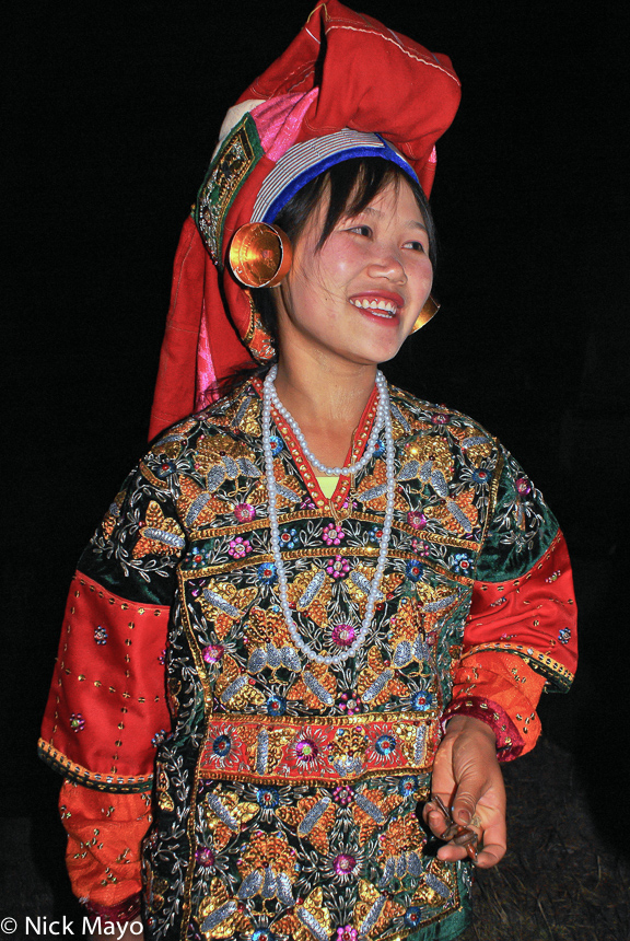 Burma,Earring,Festival,Palaung,Shan State,Turban, photo