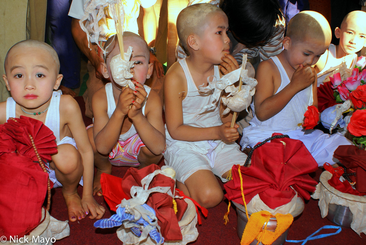 Burma,Monk,Shan,Shan State,Shinbyu, photo