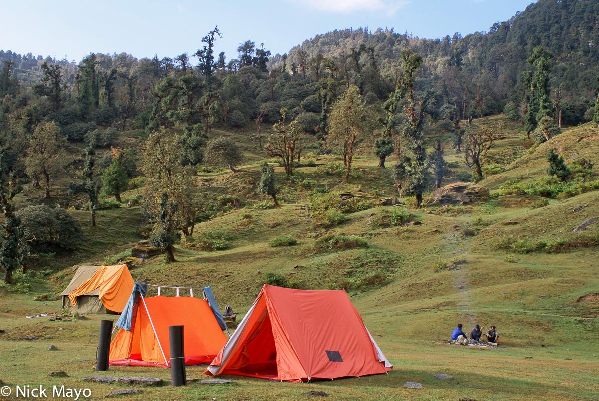 Camping,India,Uttarakhand, photo