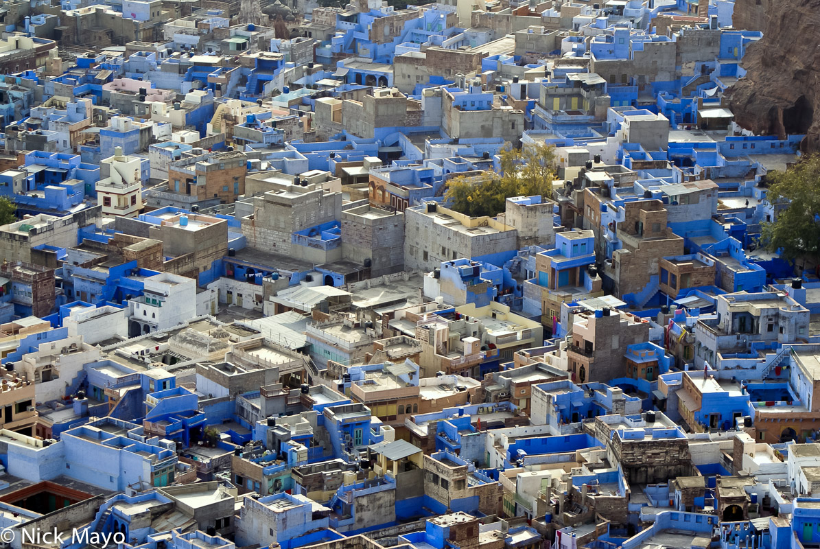 City,India,Rajasthan,Roof, photo