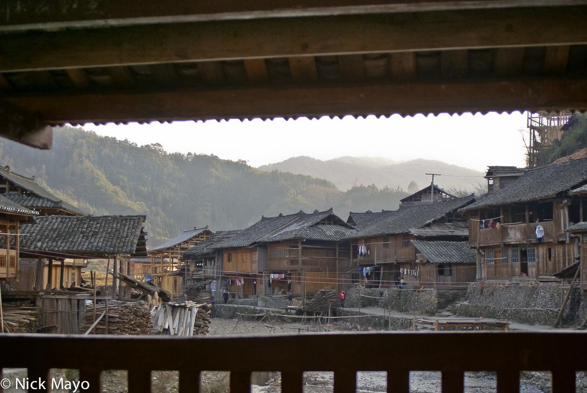 Balcony,China,Guizhou,Residence,Village, photo