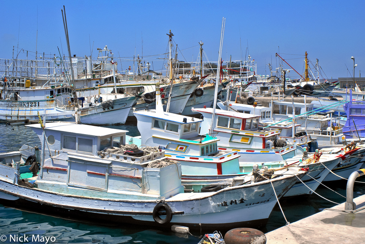 Fishing Harbour,Penghu,Taiwan, photo