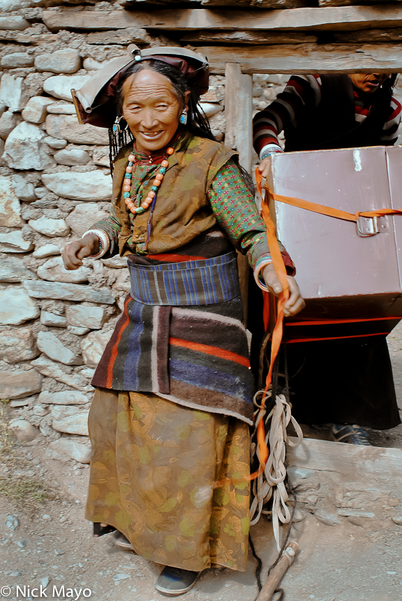 Dolpo,Dolpo-pa,Hat,Nepal,Strap, photo
