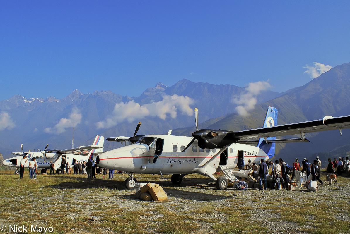 Aircraft,Dolpo,Nepal, photo