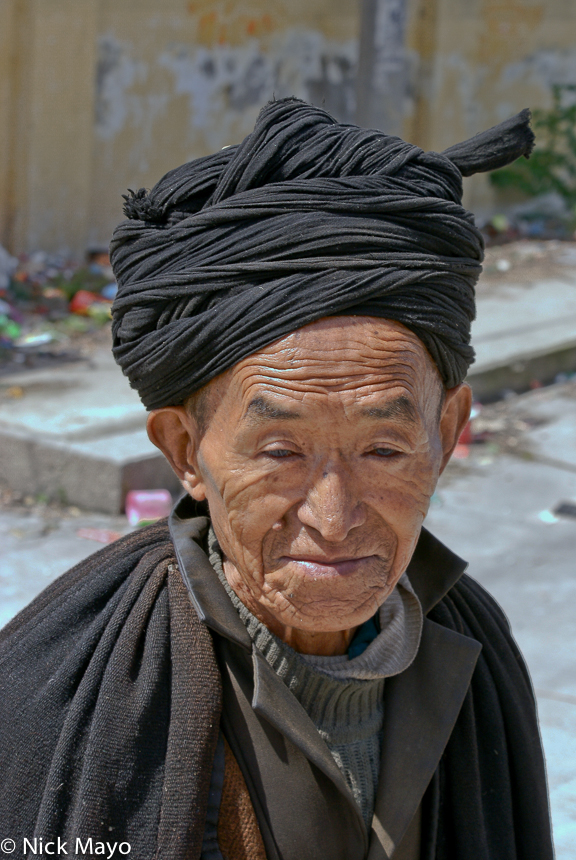 China,Sichuan,Turban,Yi, photo