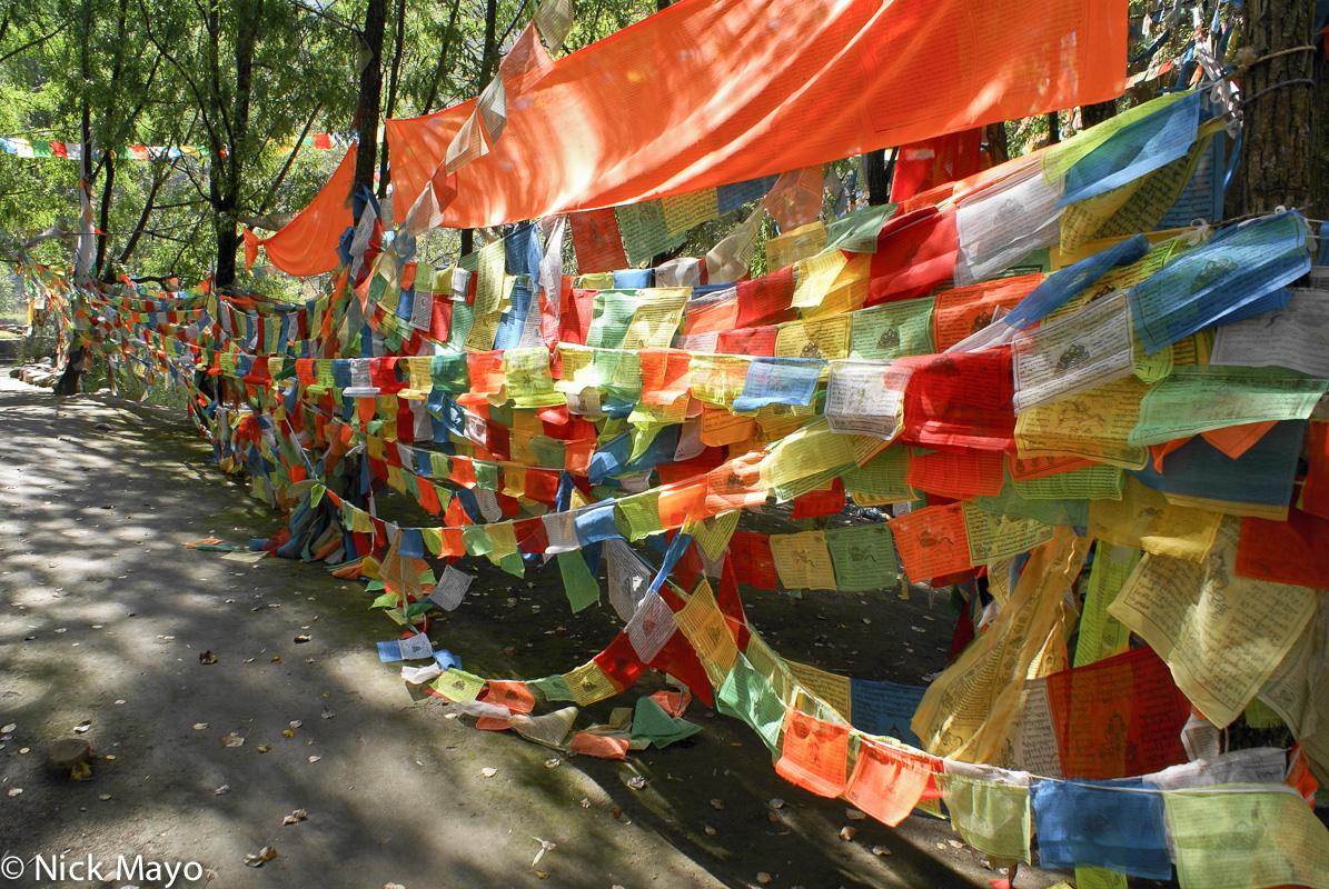 China,Prayer Flag,Sichuan, photo
