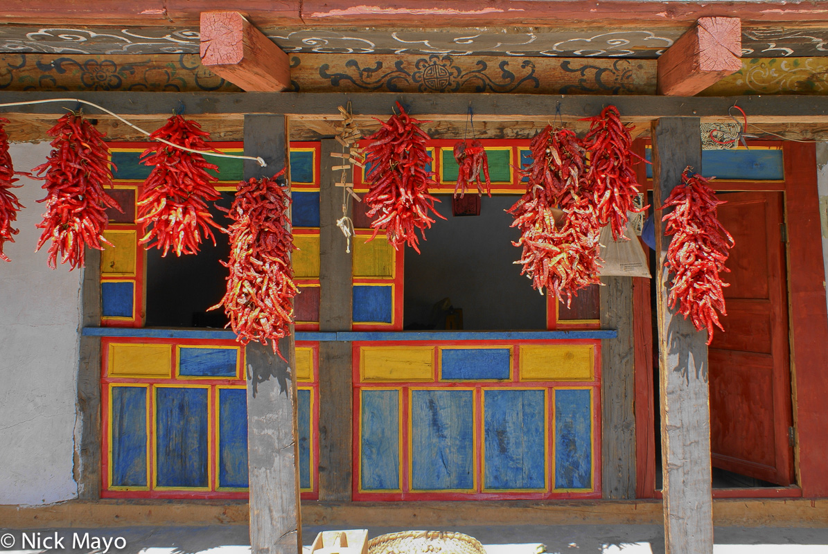Chilli,China,Drying,Residence,Sichuan, photo
