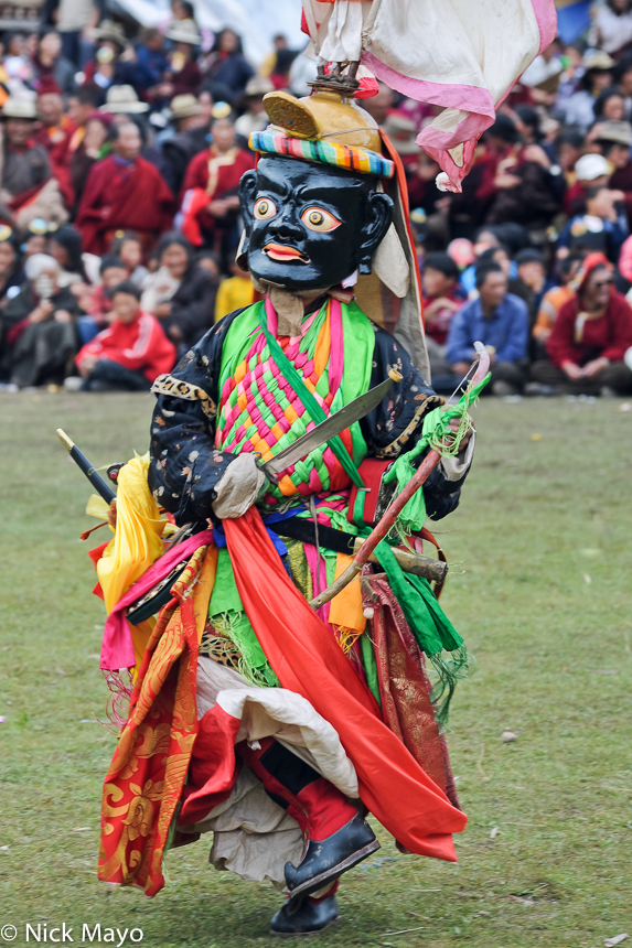 China,Dancing,Festival,Mask,Monk,Sichuan,Tibetan, photo