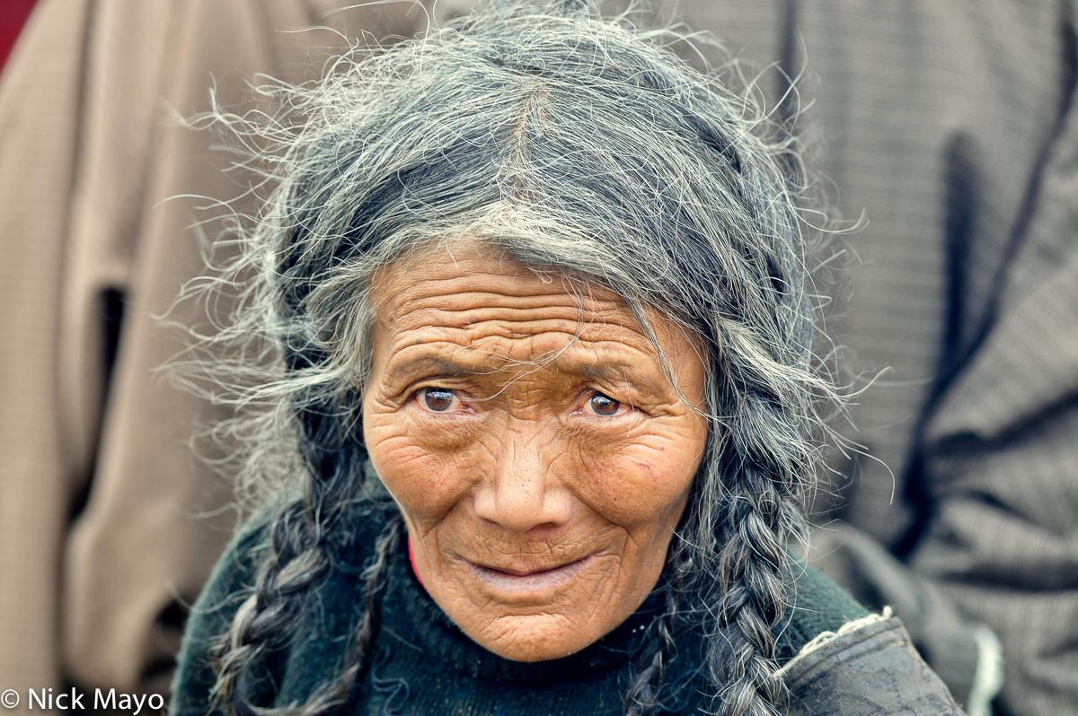 China,Festival,Hair,Sichuan,Tibetan, photo