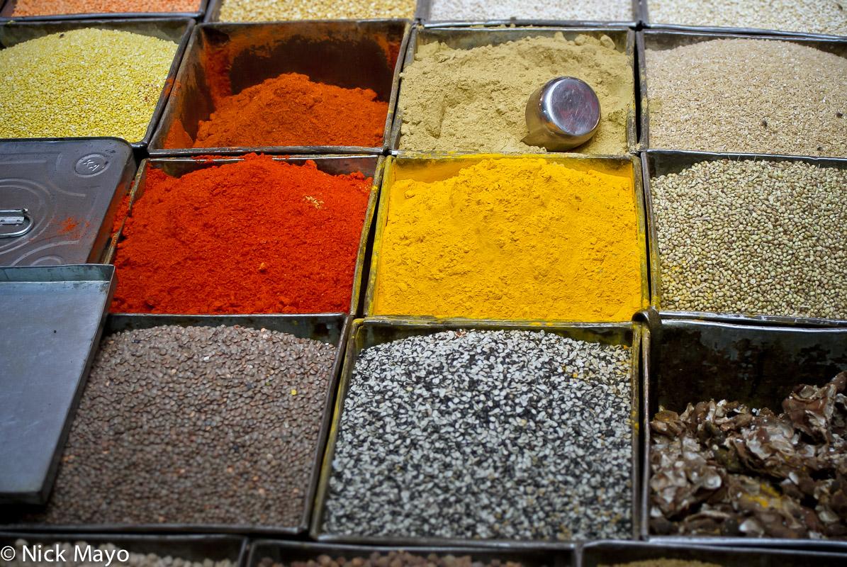 India,Market,Rajasthan,Spice, photo