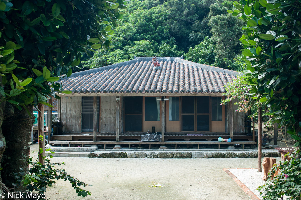 Japan,Residence,Roof,Ryukyu Islands, photo