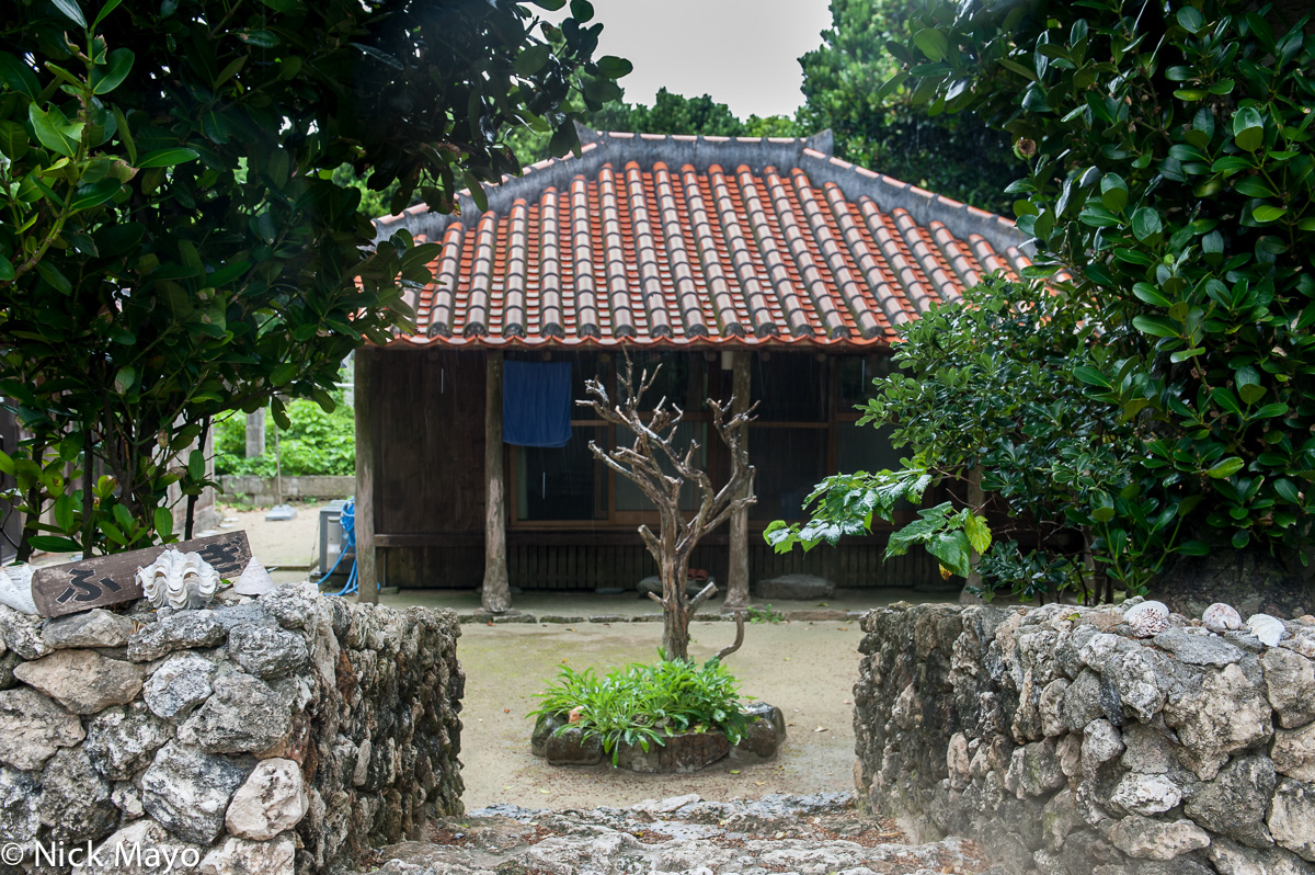 Japan,Residence,Roof,Ryukyu Islands, photo
