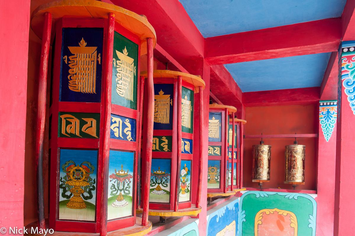 China,Prayer Wheel,Qinghai, photo