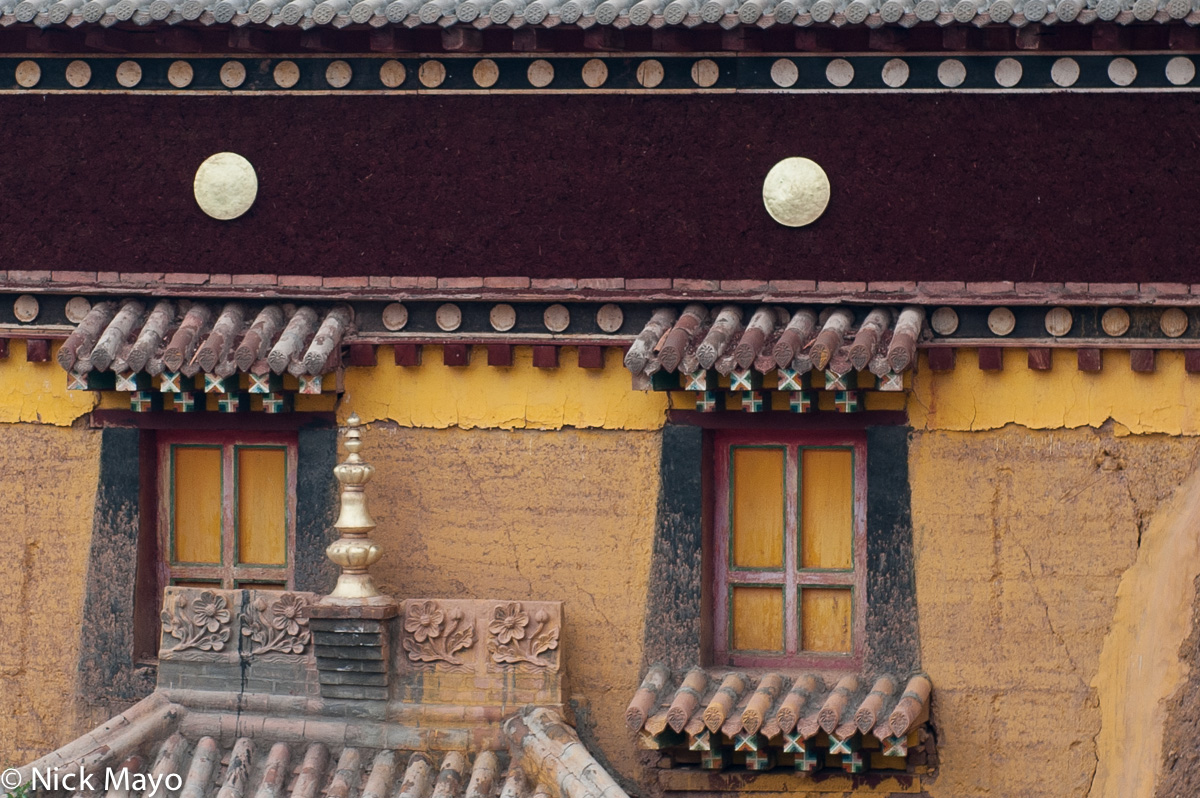 China,Monastery,Qinghai,Window, photo