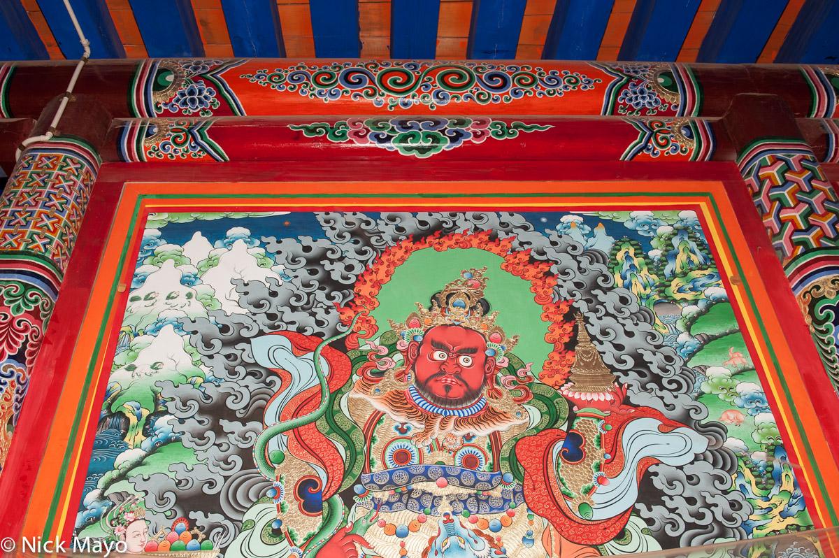China,Monastery,Qinghai, photo