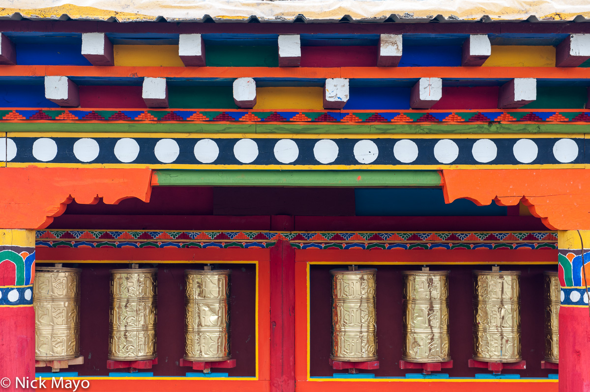 China,Prayer Wheel,Sichuan, photo