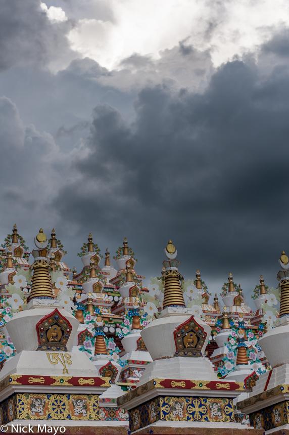 China,Sichuan,Stupa, photo