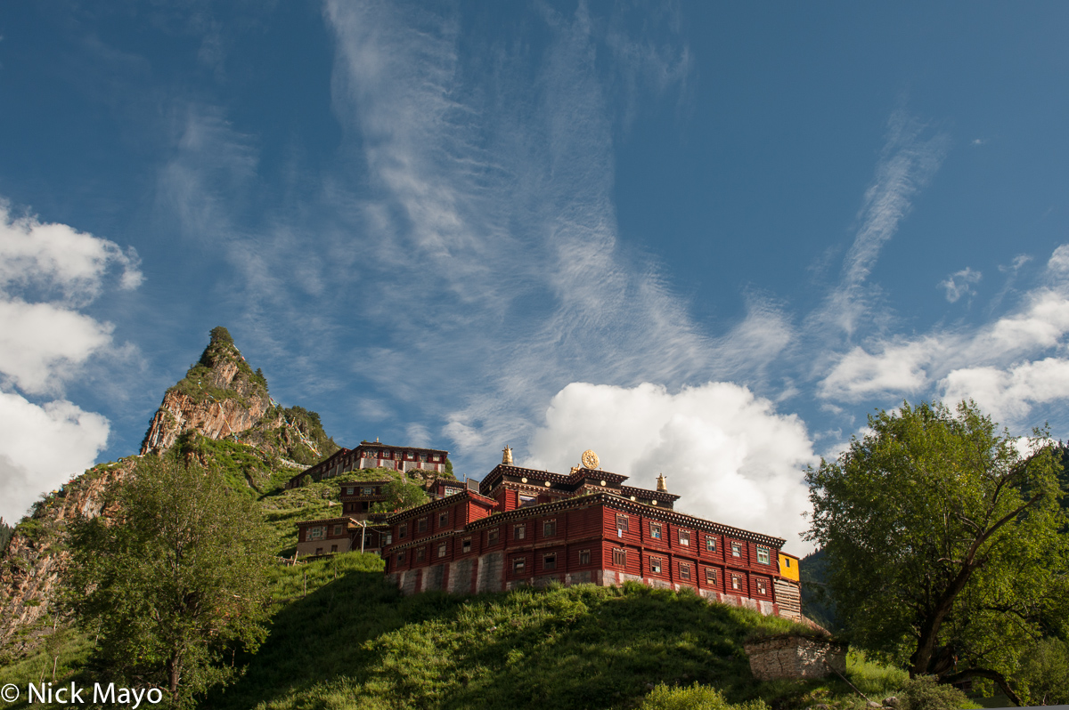 China,Monastery,Sichuan, photo