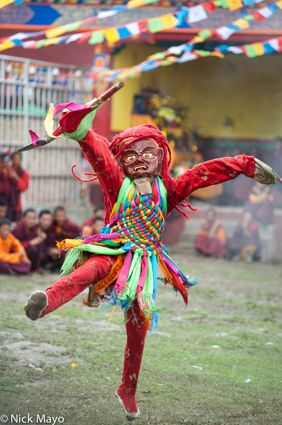 China,Dancing,Festival,Monk,Sichuan,Tibetan, photo