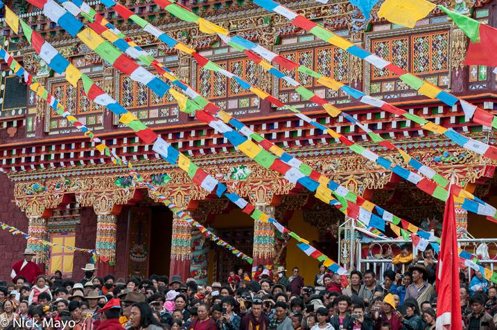 China,Festival,Monastery,Prayer Flag,Sichuan,Tibetan, photo