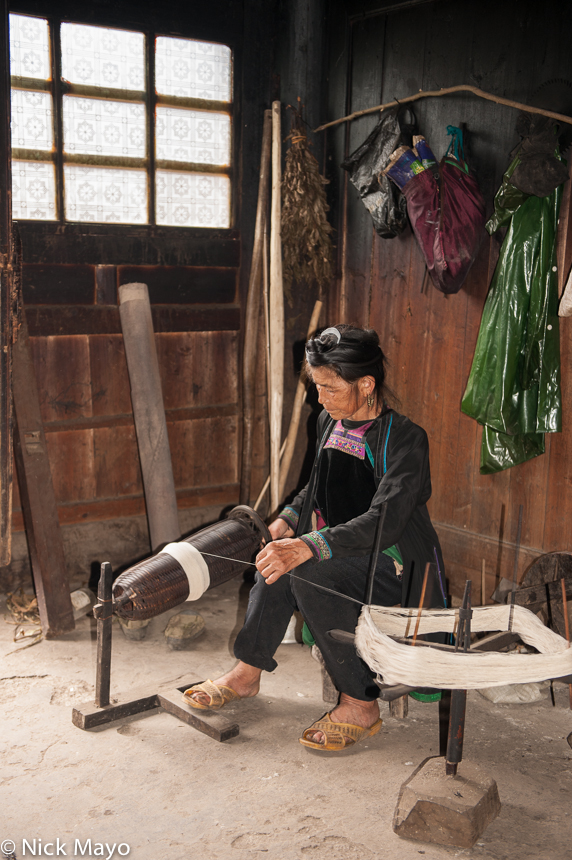 China,Dong,Guizhou,Spindle,Spinning, photo