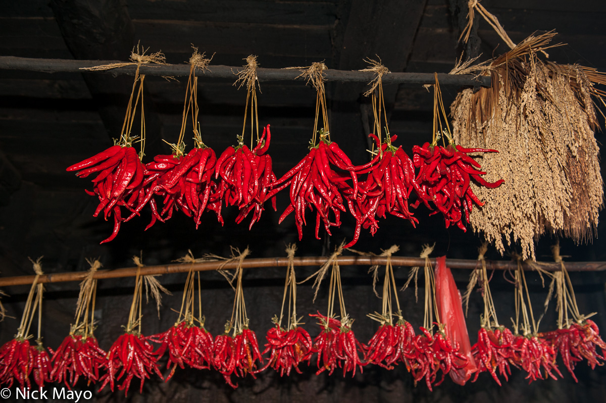 Chilli,China,Drying,Guizhou, photo