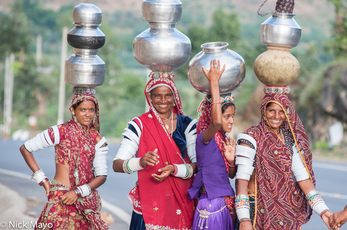 Fetching Water,Gujarat,India,Rabari, photo