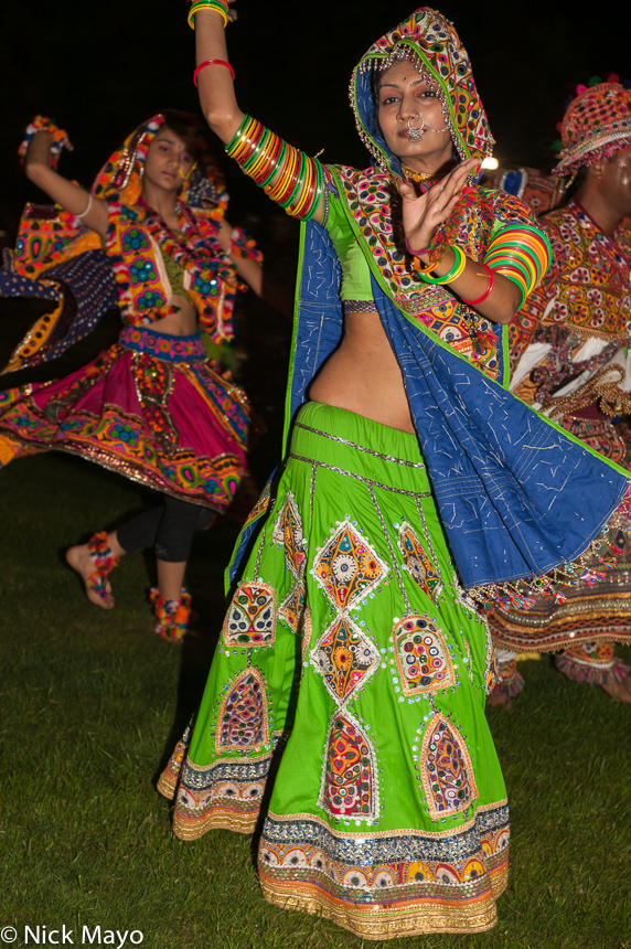 Dancing,Festival,Gujarat,India, photo
