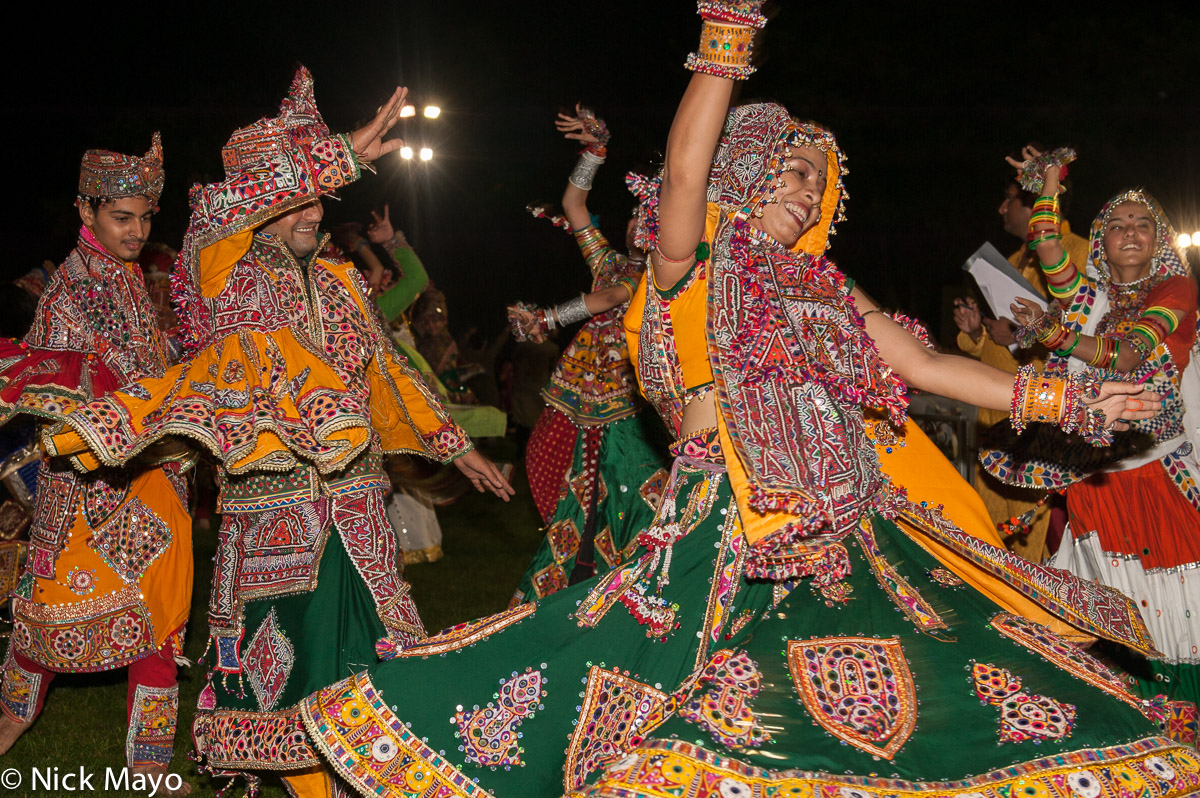 Bracelet,Dancing,Festival,Gujarat,Head Scarf,India, photo
