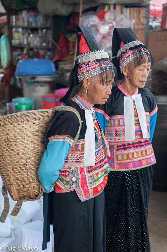 Basket,China,Dai,Market,Yunnan, photo
